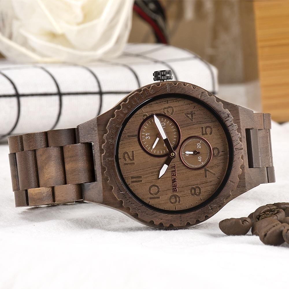 Orologi in legno - Bewell W154A