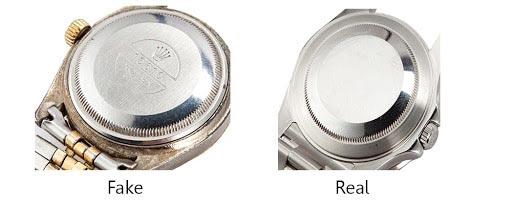 Come riconoscere un Rolex originale: Nome stampato