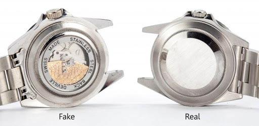 Come riconoscere un Rolex originale: Scatole trasparenti